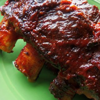 Saucy Beef Ancho Ribs