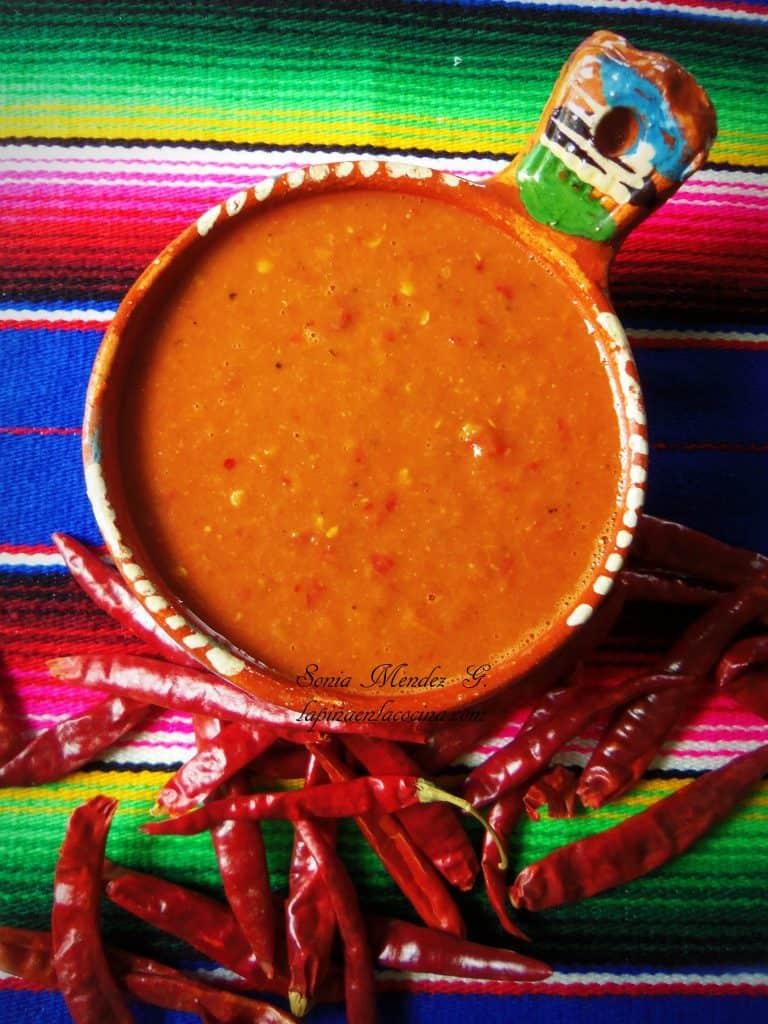 Spicy Taqueria Style Salsa