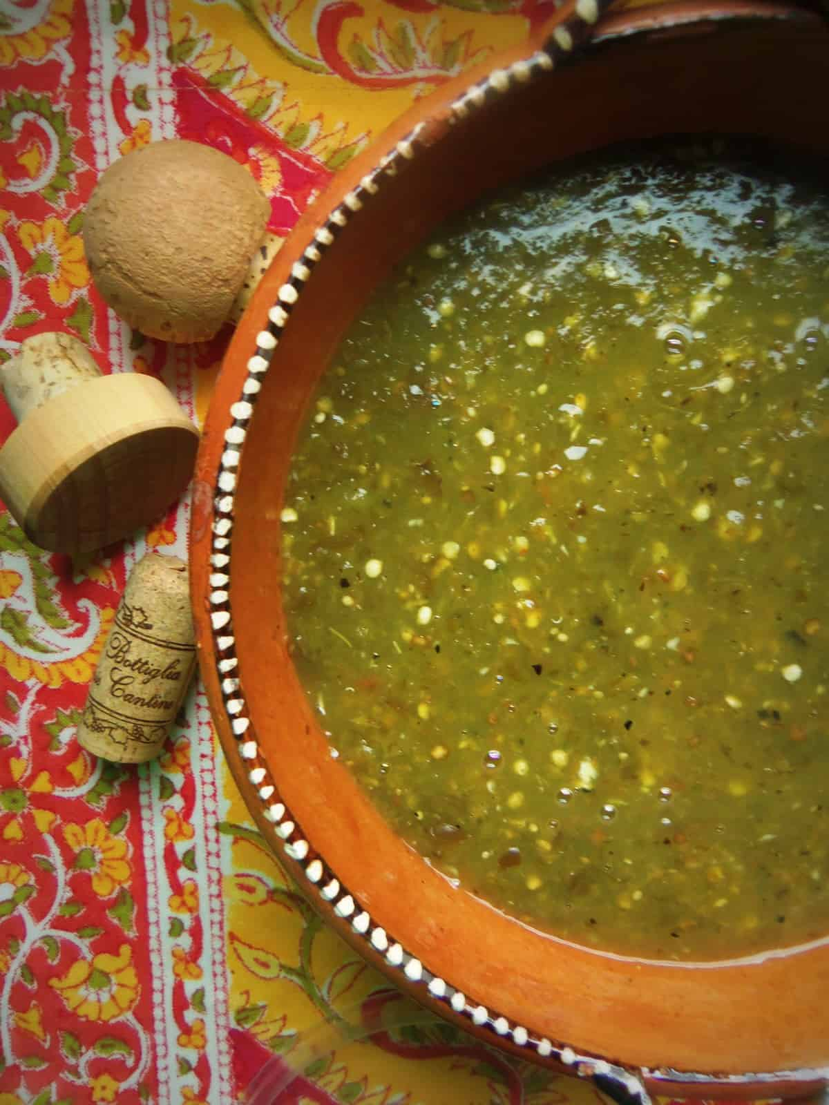 Charred Serrano Hot Sauce