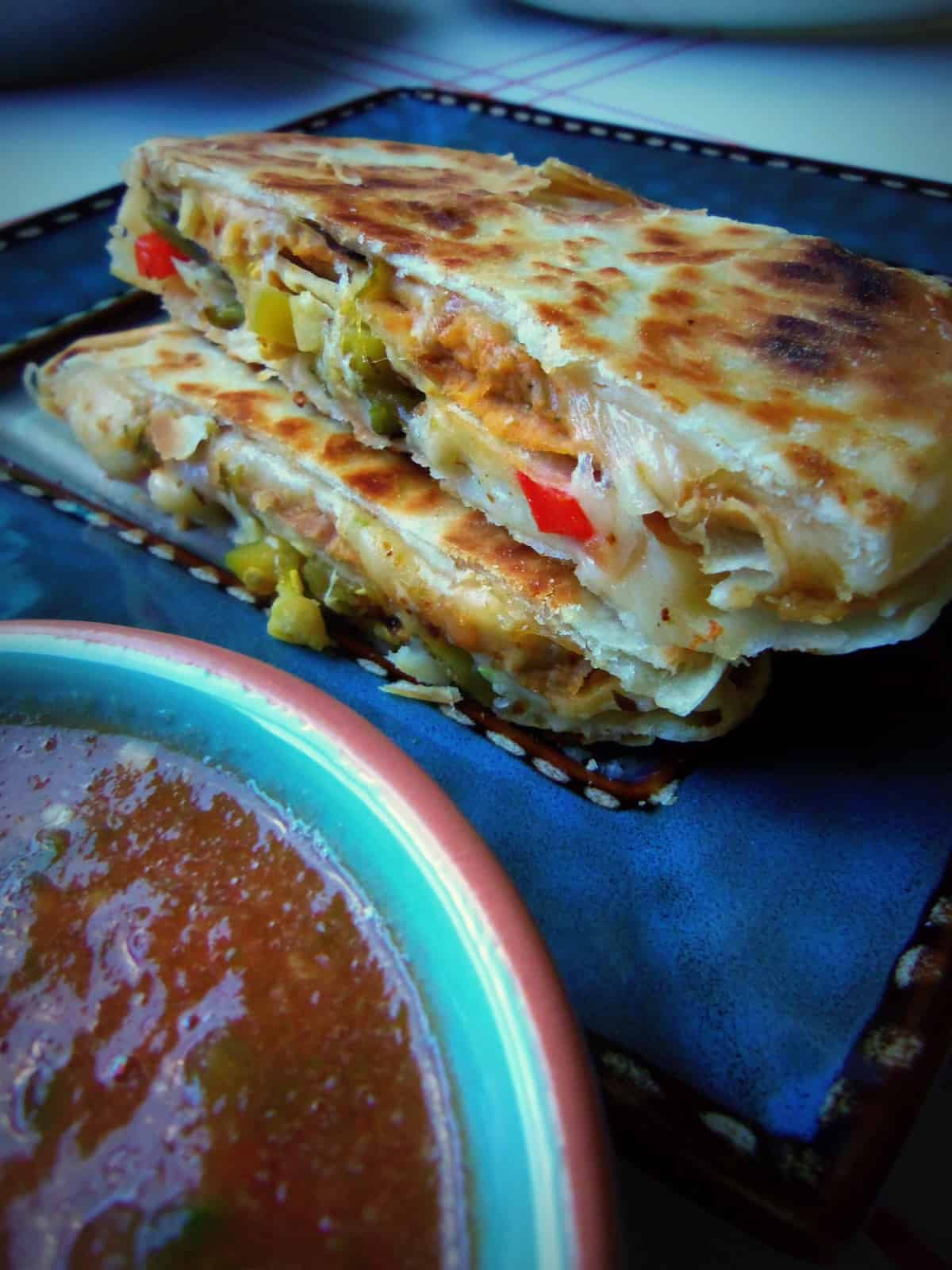 Sincronizadas Double Stacked Quesadillas