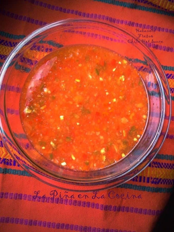 Habanero Fresno Hot Sauce