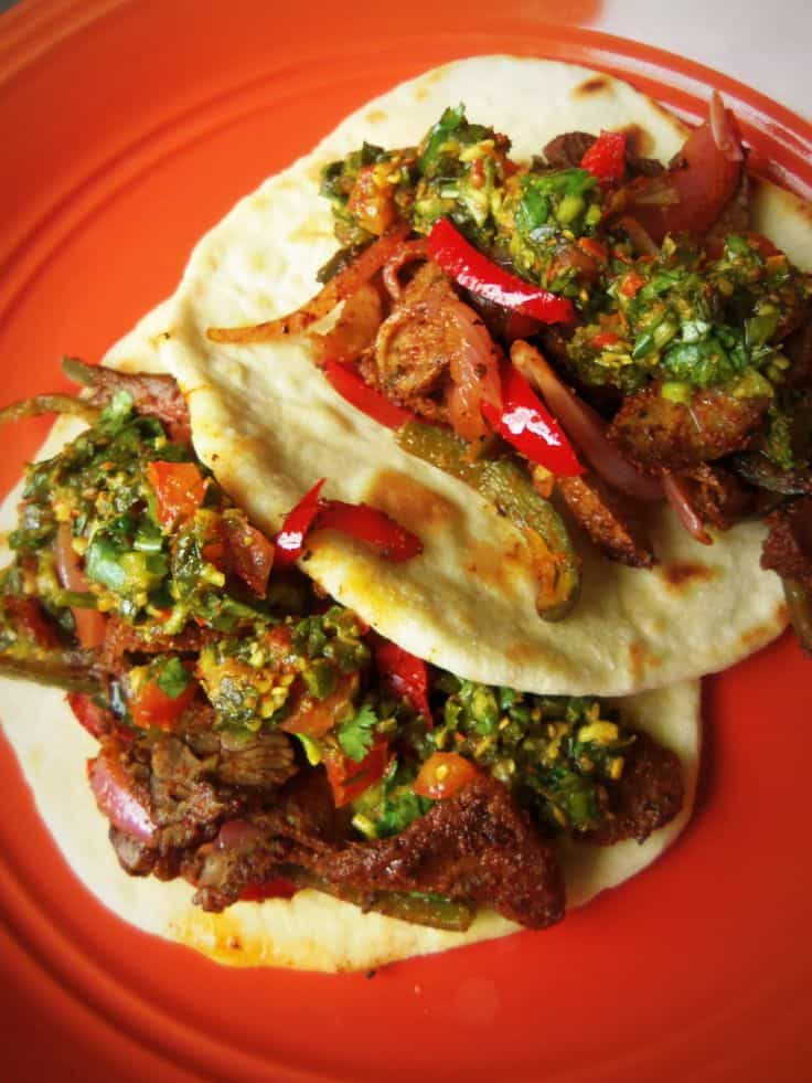 Indian Spiced Beef Tacos