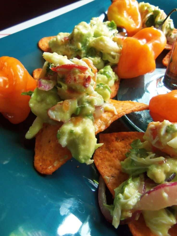 Lobster and Crab Avocado Salad with Habanero