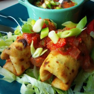 Appetizer Chimichangas~ Antojitos