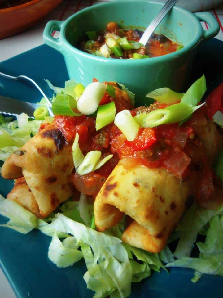 Appetizer Chimichangas