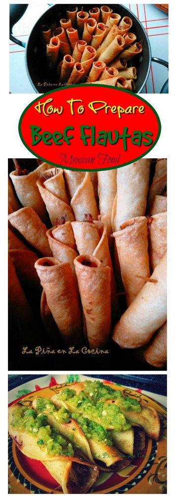 Beef Flautas-Taquitos