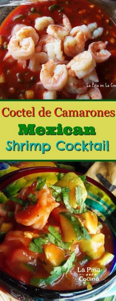Pinterest image of shrimp cocktail