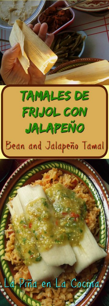 Tamales de Frijol Con Jalapeño