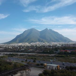 View from La Fundidora, Monterrey