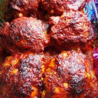 Piri Piri Style Chicken with Chayotes