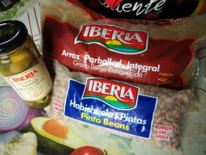 Iberia Brand Rice, Beans and Olives