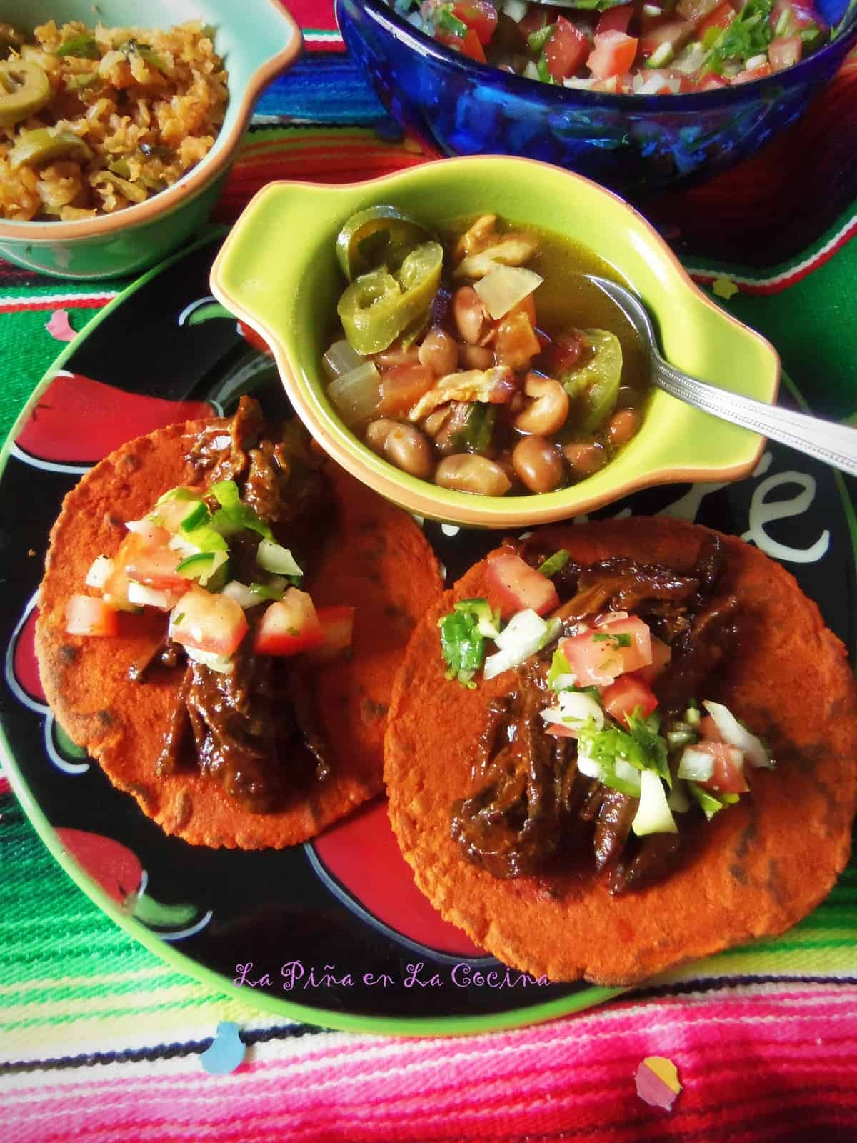 Homemade Chile Infused Corn Tortillas were Perfect For These Tacos