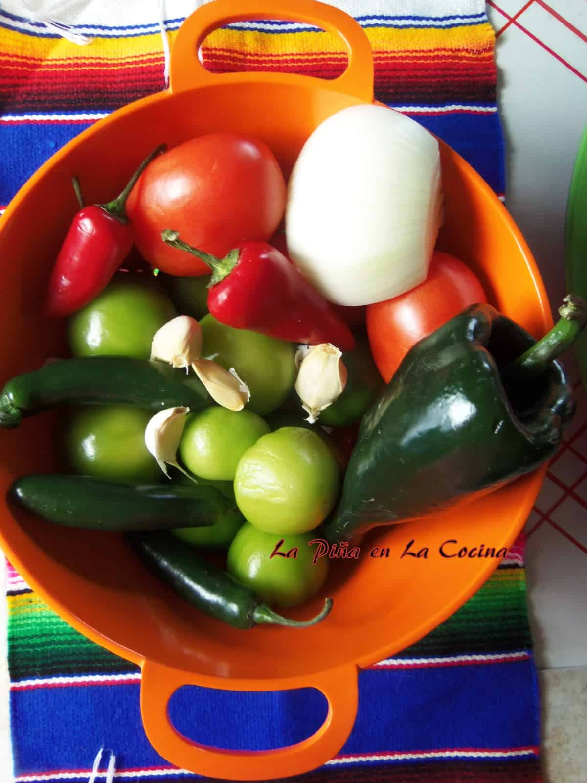 Always start with fresh ingredients for the most authentic Mexican flavors.