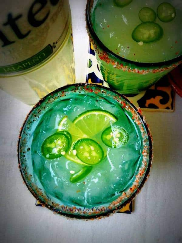 Jalapeno Lime Margaritas