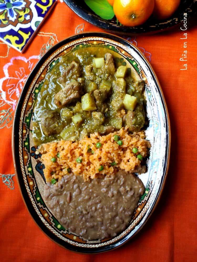 Pork Chile Verde - La Piña en la Cocina