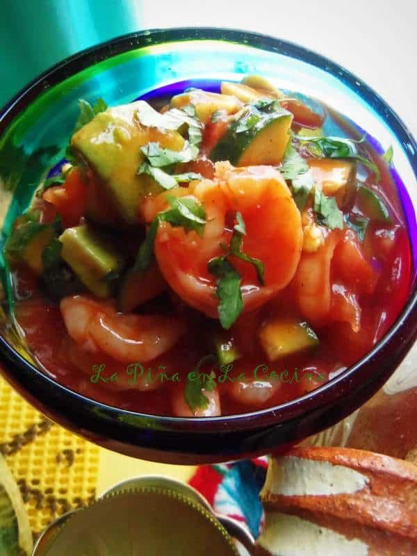 Coctel de Camarones~Mexican Shrimp Cocktail