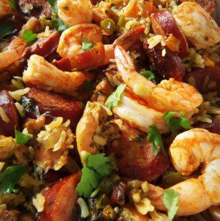 Spicy Cajun Jambalaya