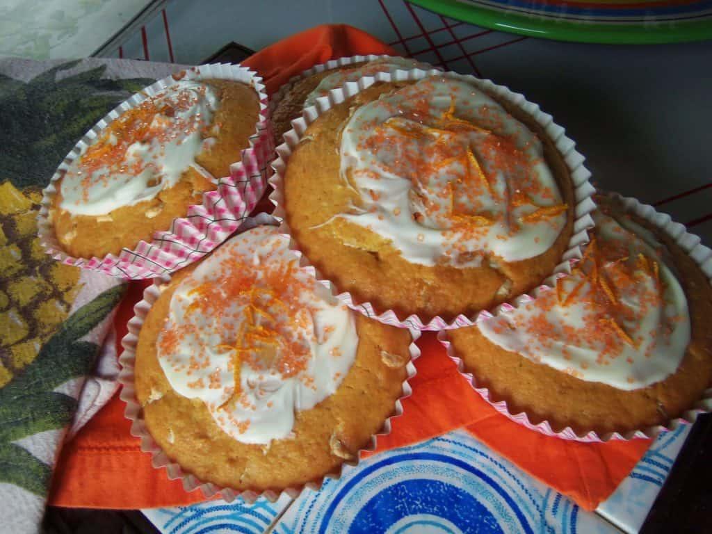 Mantecadas de Naranja