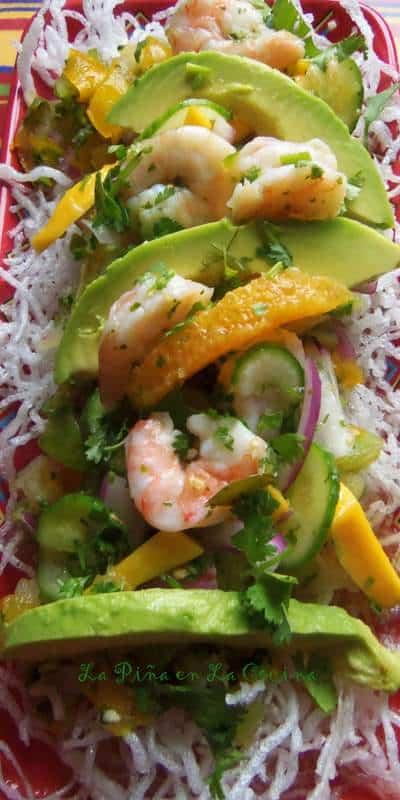 Tropical Shrimp Ceviche