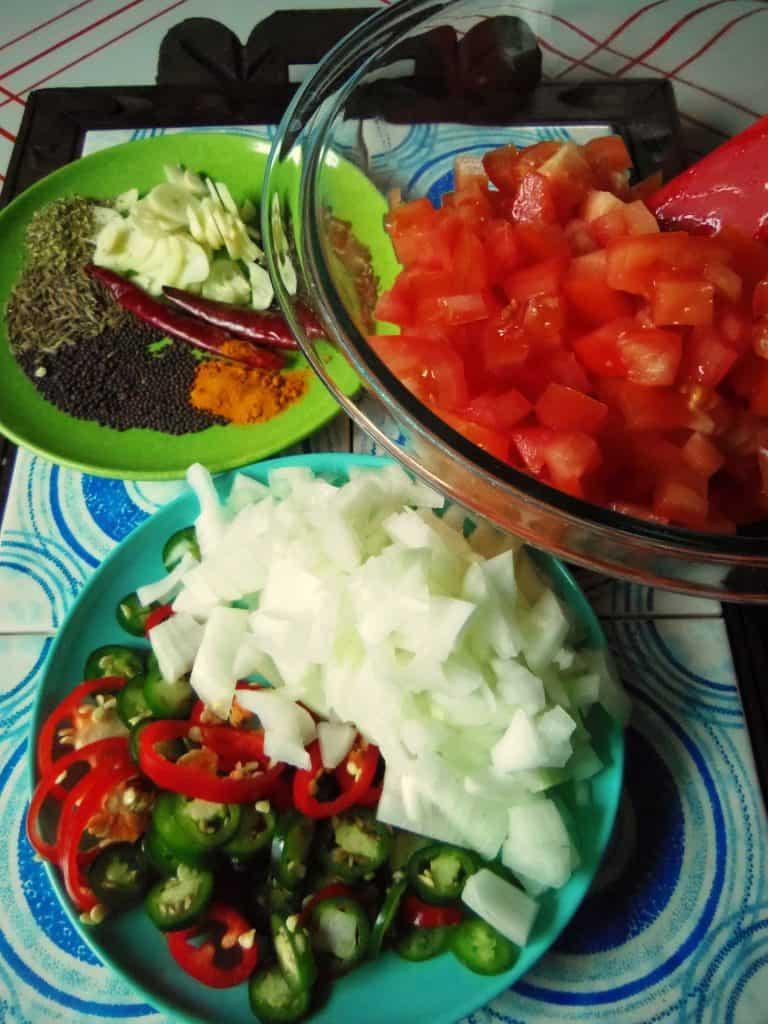 Salsa en Vinagré~Pickled Salsa