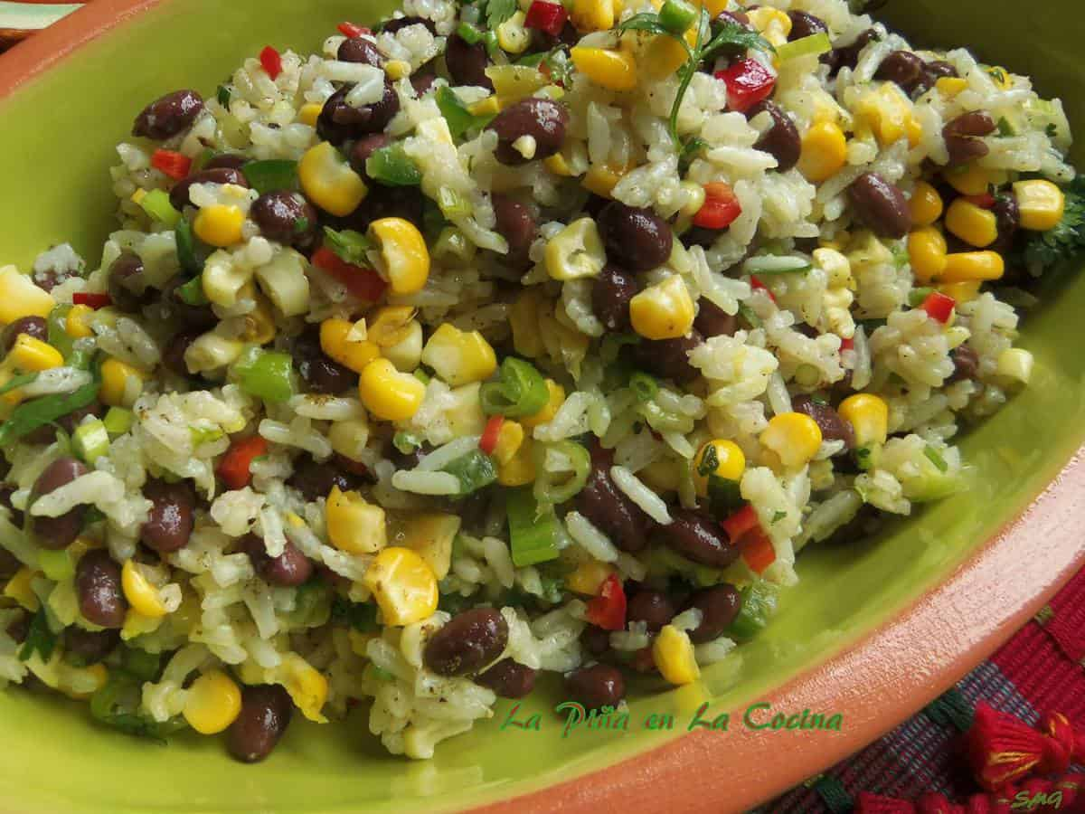 Black Beans and Rice Salad