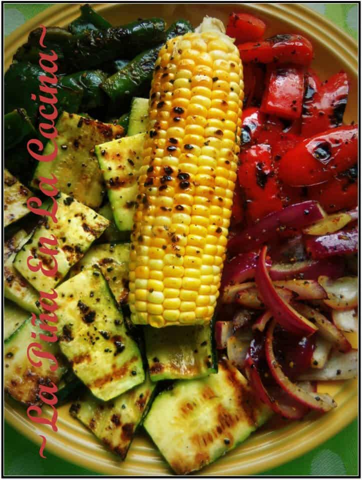 Grilled Vegetables on a salad are the best!