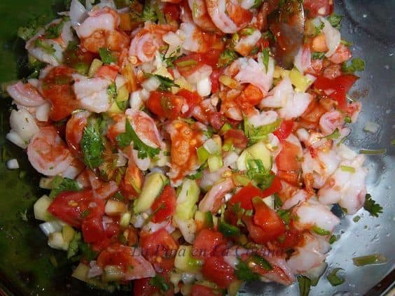 Quick and Easy Shrimp Ceviche