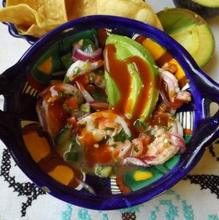 Quick and Fresh Shrimp Ceviche(Cebiche)