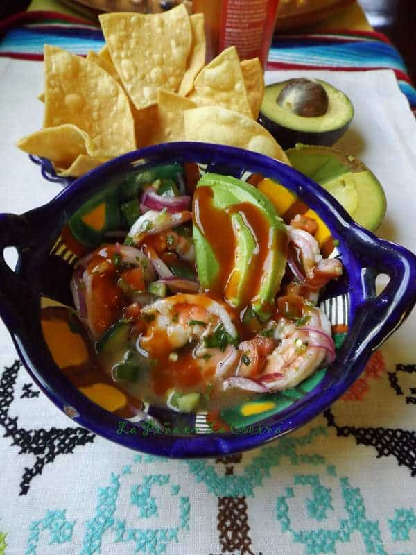 Fresh and Quick Shrimp Ceviche