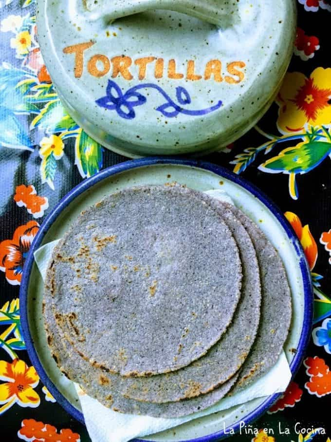 Fresh Blue Corn Tortillas