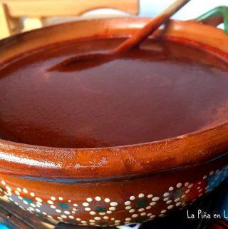 Salsa de Chile Ancho  (Chile Ancho Sauce)