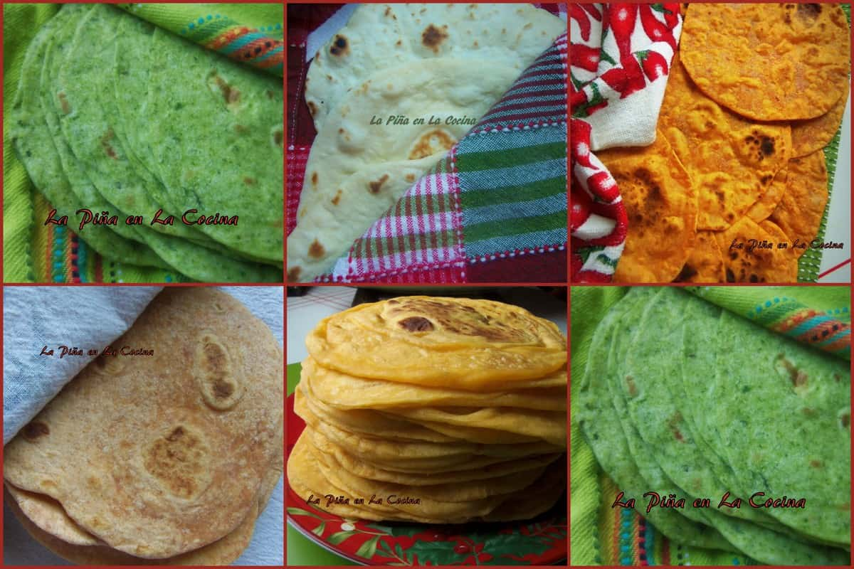 Fabulous Flour Tortillas A Staple In The Mexican Kitchen La Pina Home Interior And Landscaping Spoatsignezvosmurscom