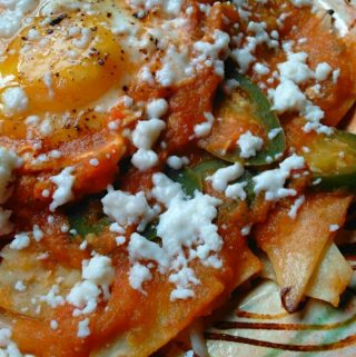 Chilaquiles~ The Original Mexican Nachos