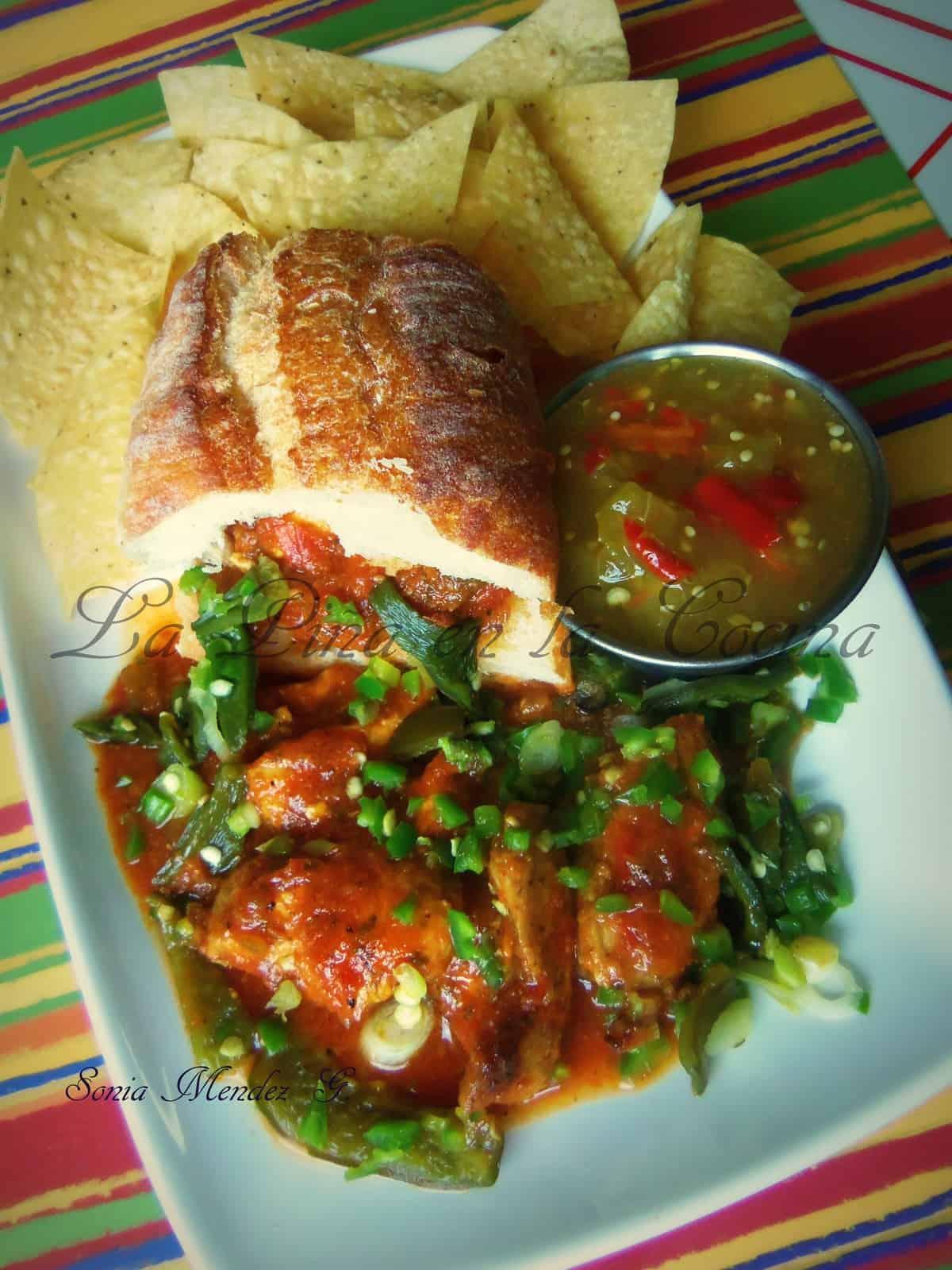 Marinated Salsa Chicken Spiedies