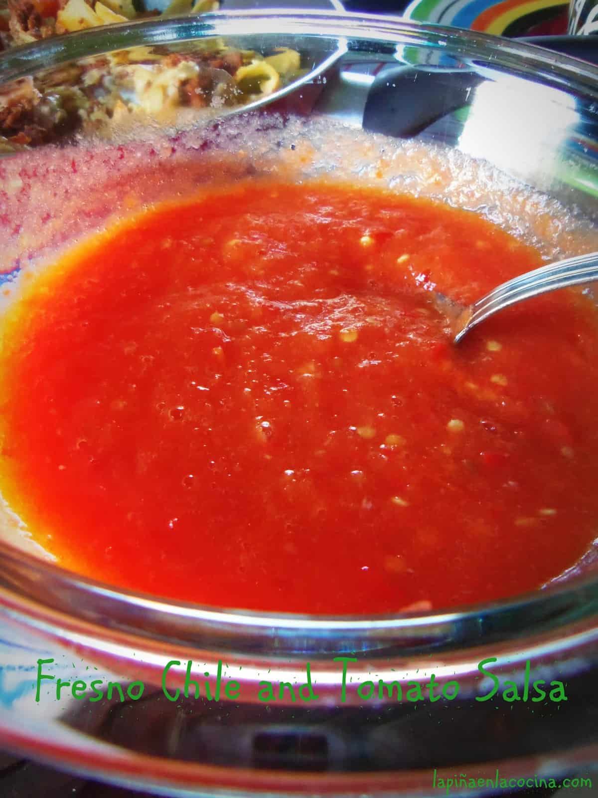 The simplest and most common of Mexican salsa's, also known as Salsa de Mesa or Table Salsa