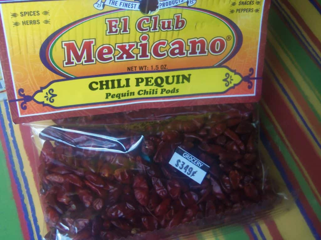 The dried version of Chile Pequin, my absolute favorite chile. It's difficult to find fresh where I live.