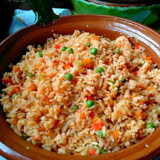 Simple Mexican-Style Rice~ Arroz Estilo Mexicano