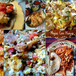 Migas con Huevo~ Breakfast Tortilla Skillet