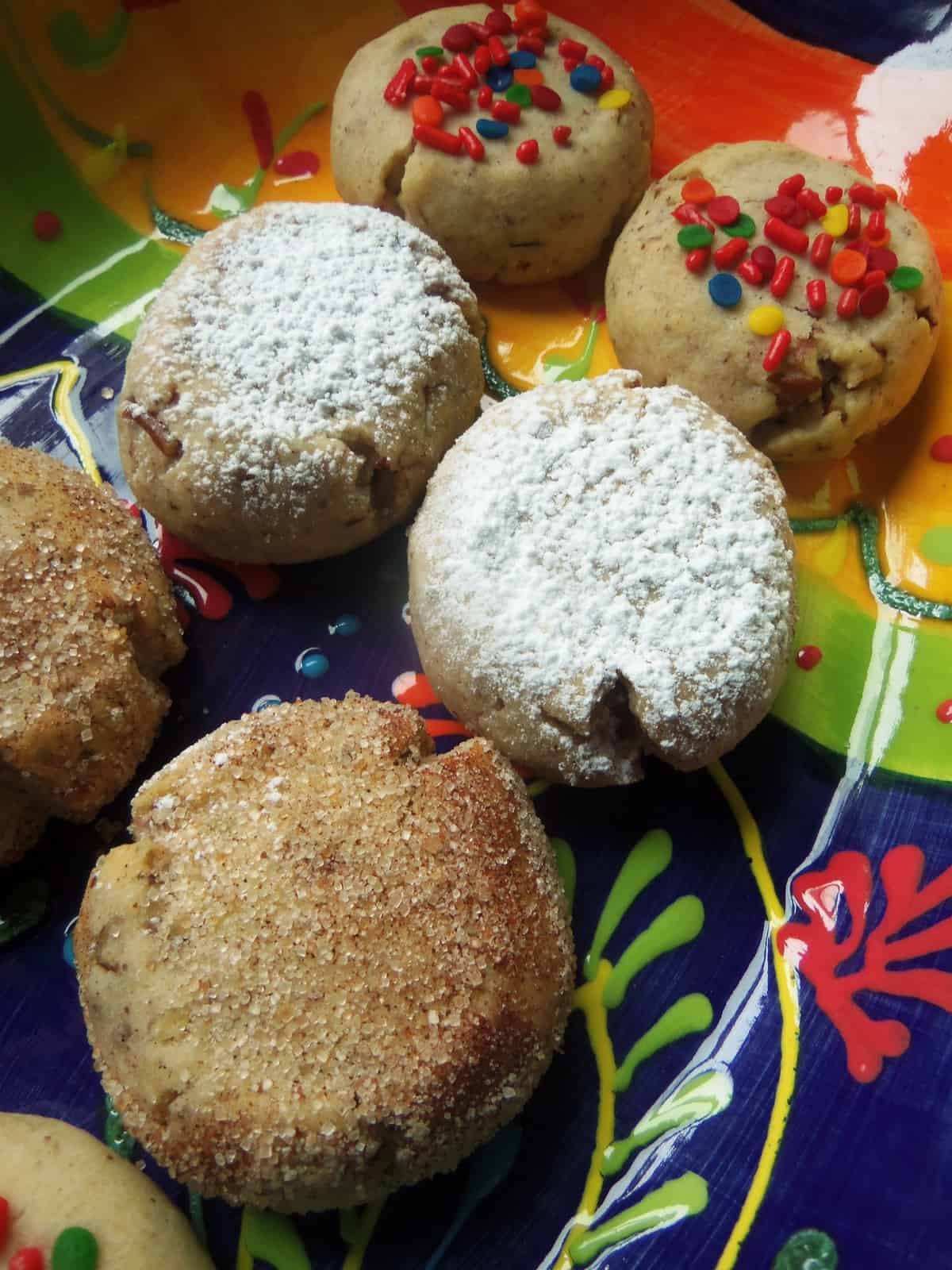 Polvorones remind me of the holidays, but they are a great cookie for anytime!