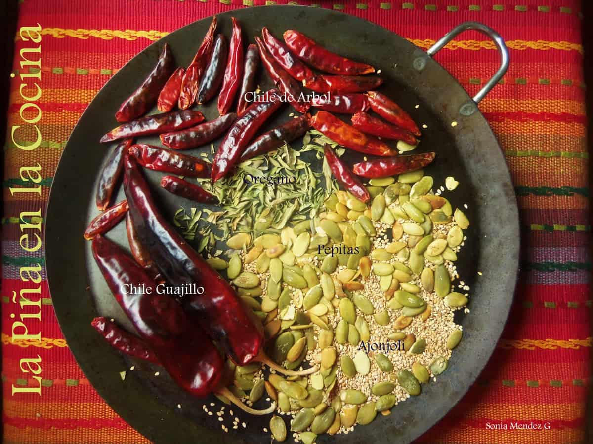 Dried chiles can be used in everyday dishes to add a little heat and rich red colors!