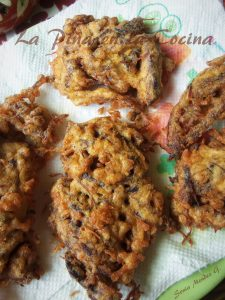 Shredded Beef Fritters, Tortitas de Carne Deshebrada