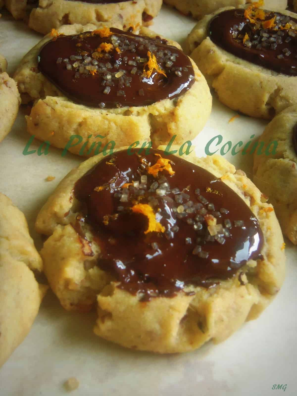 Hojarascas with Orange Zest and Dark Mexican Chocolate