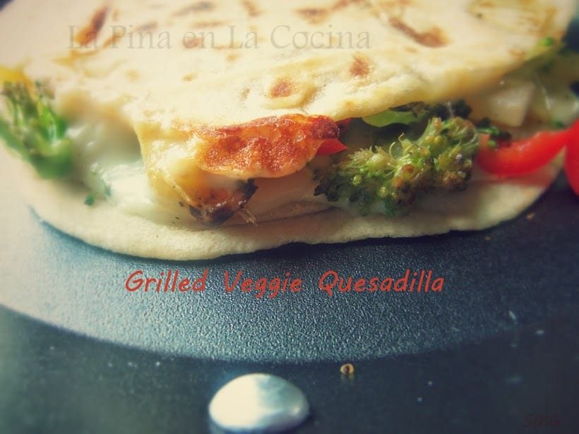 Grilled Veggie Quesadillas with Mexican Cheese