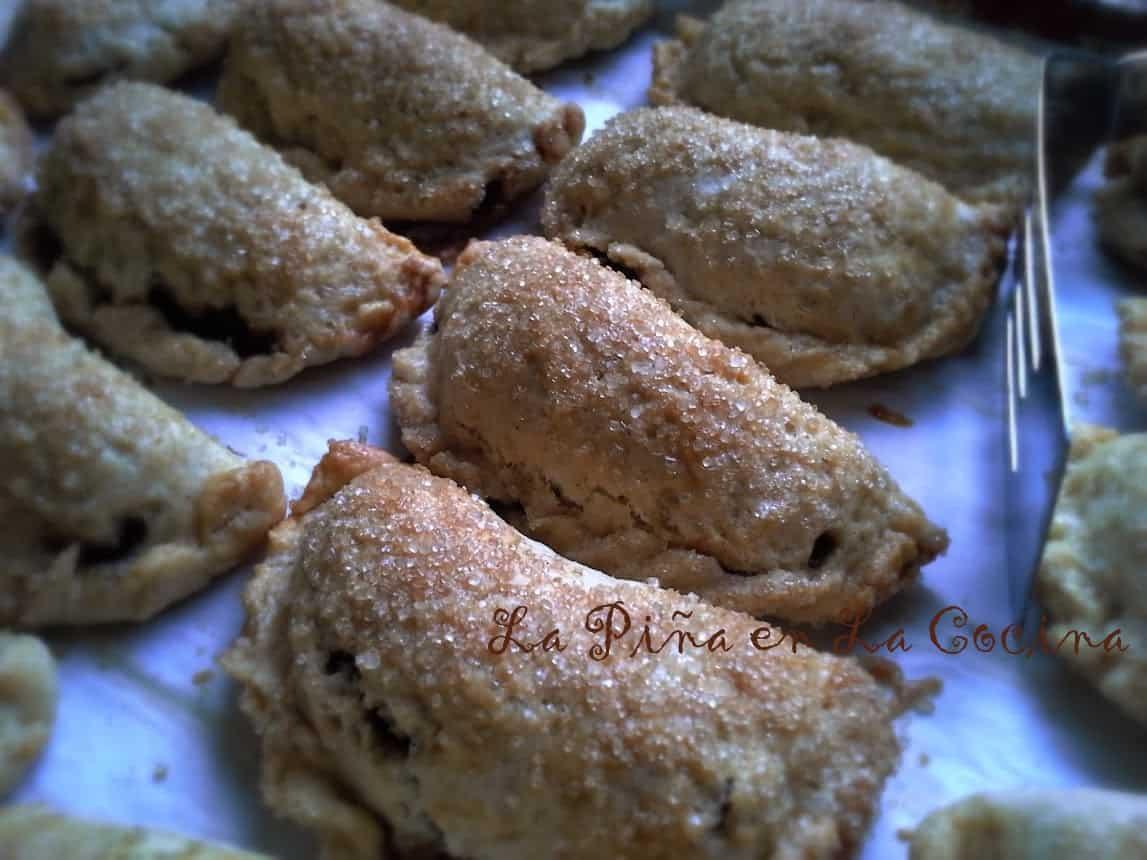 Apple Pecan Raisin Empanadas