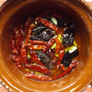 Dried Chiles~ Staples of a Mexican Kitchen