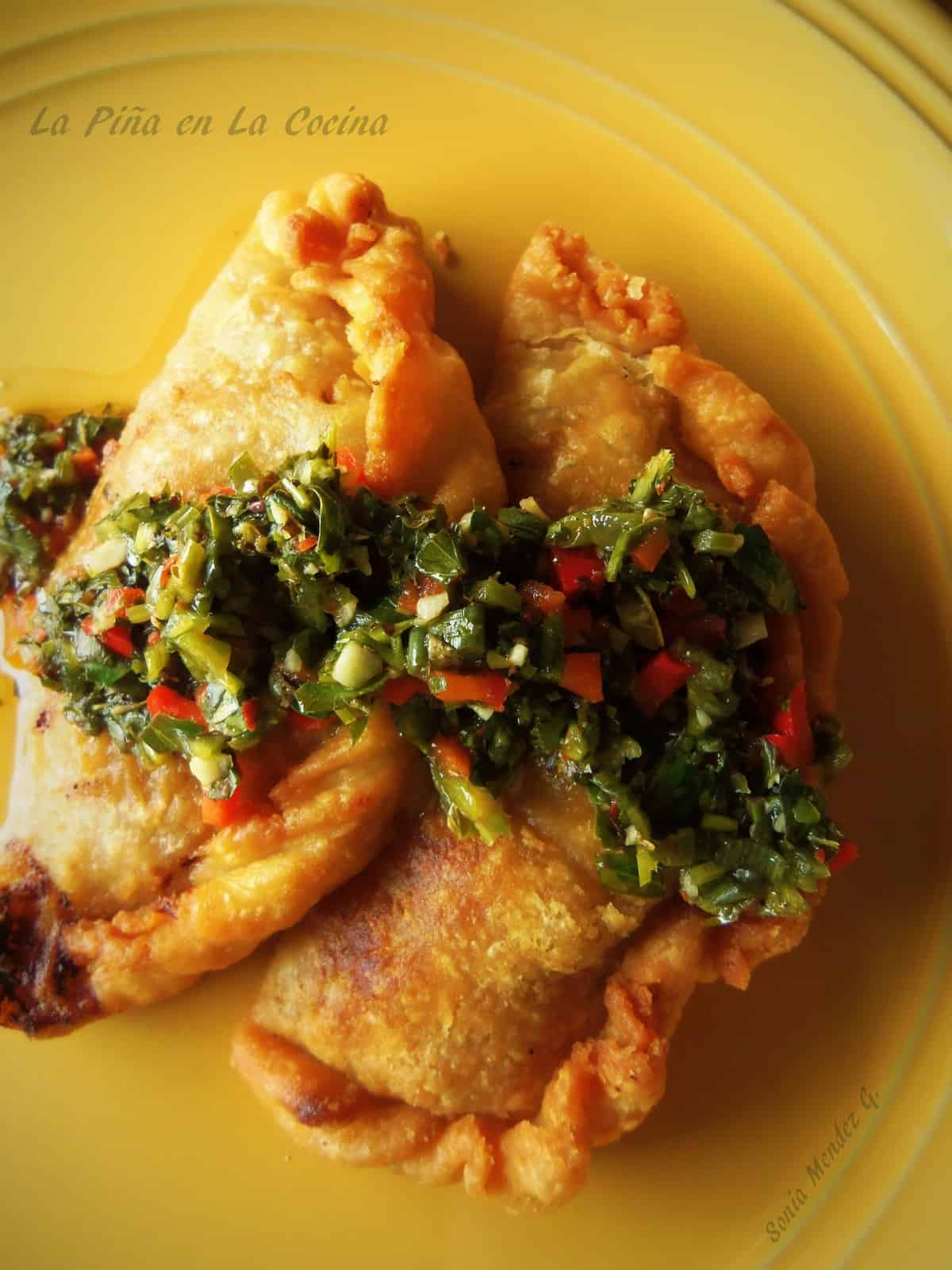 Smoky Potato And Caper Empanadas With Cilantro Sauce Recipes ...