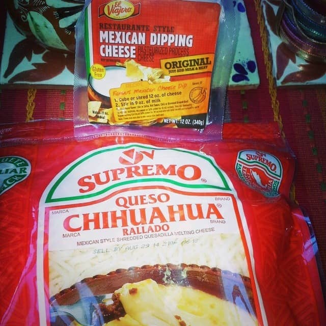 Was excited to find shredded Chihuahua cheese at my local market.
