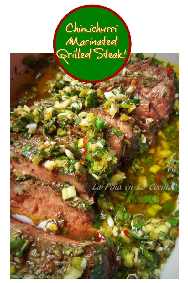 Chimichurri Marinated Grilled Steak