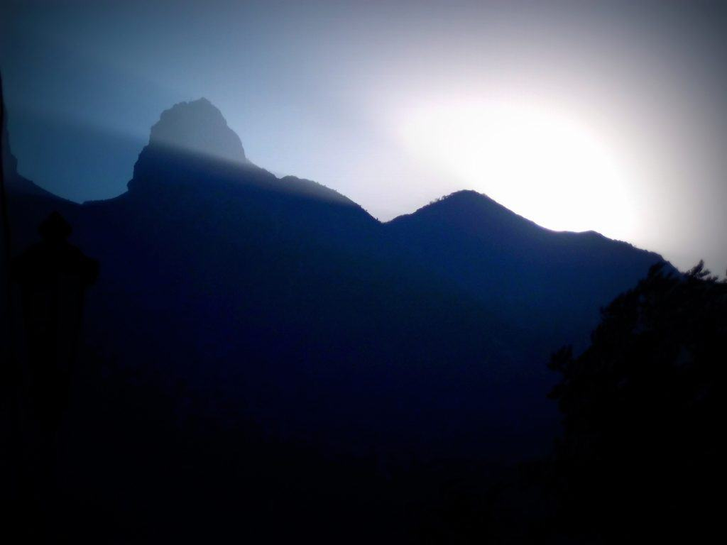 El Cerro...my view in the early morning from the patio