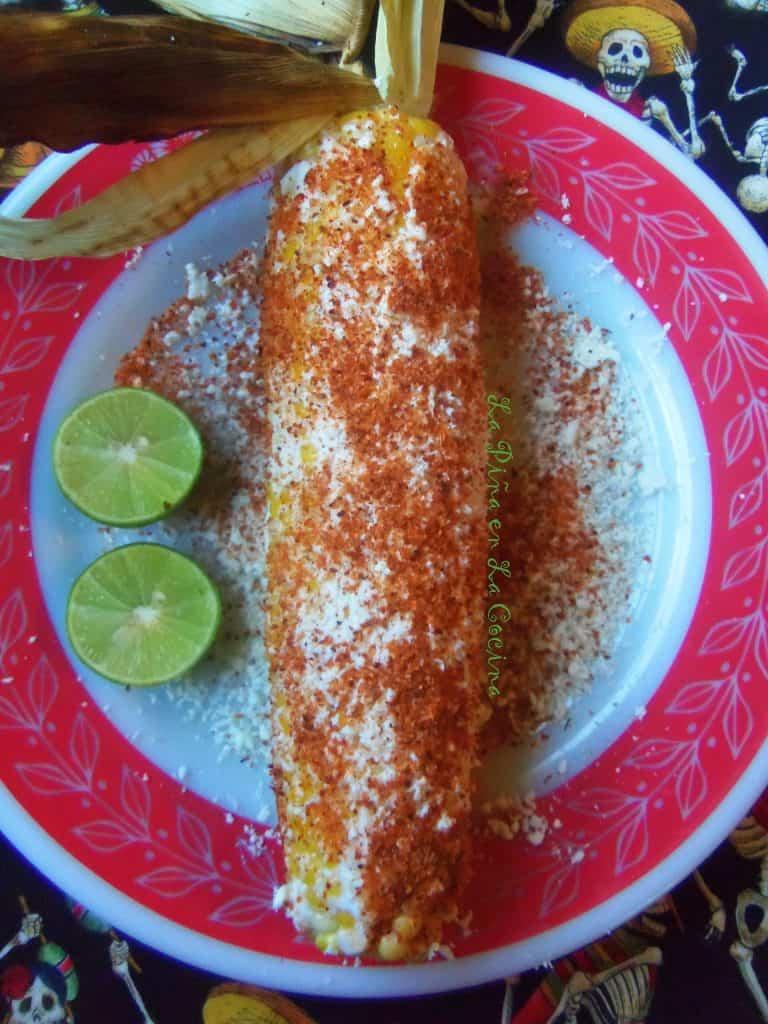 Elote Asado-Mexican Grilled Corn